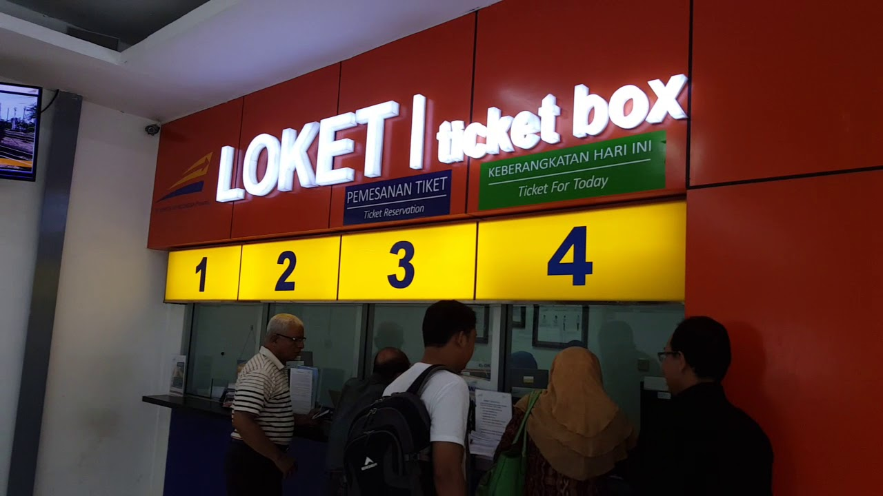Boarding Pass Go Show Train Kamandaka Departure Pekalongan Eta Semarang Tawang