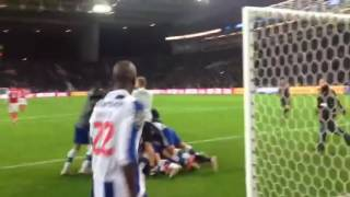 FC Porto 1-0 Braga (Os festejos do golo)