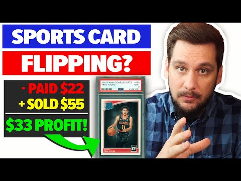 Sports Card Flipping - How I Go About Flipping Basketball Cards On EBay