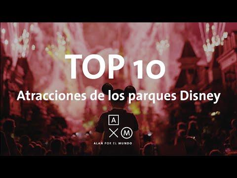 TOP 10 Atracciones de los Parques Disney | Alan por el mundo