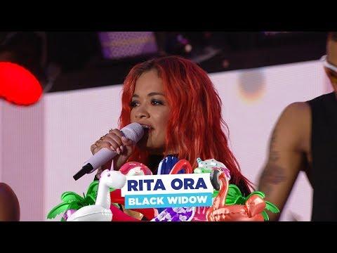 Rita Ora  'Black Widow'  at Capital's Summertime Ball 2018
