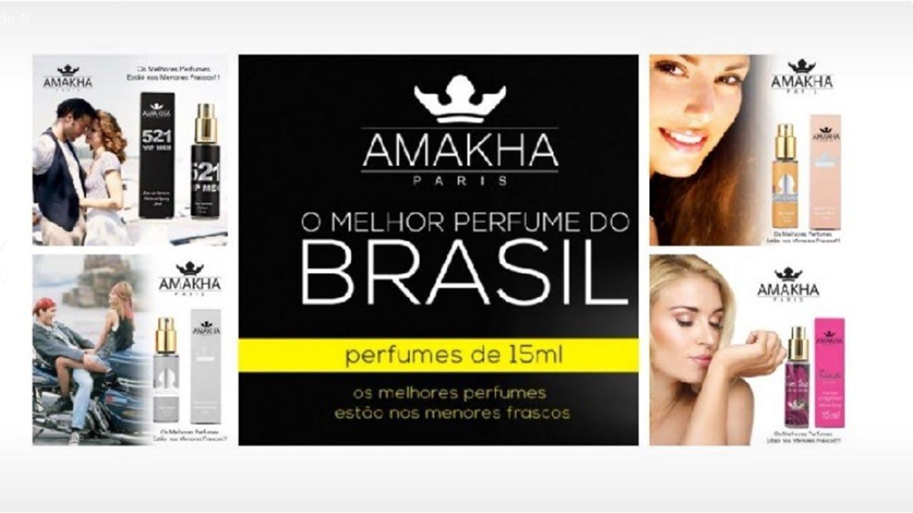 a031c8007 Amakha Paris Perfume de Bolsa Revenda Negocio Proprio - YouTube
