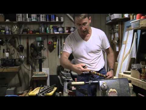 Wood Threading to Repair a Croquet Mallet