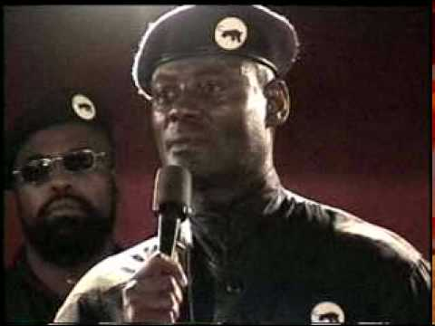 #12 Khalid Muhammad, the Black Power General's last State of the Race Message (10-15-2000) - YouTube