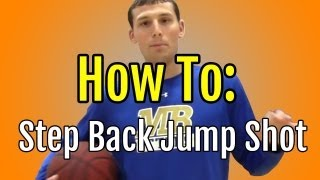 """Basketball Moves"" - How To Step Back 
