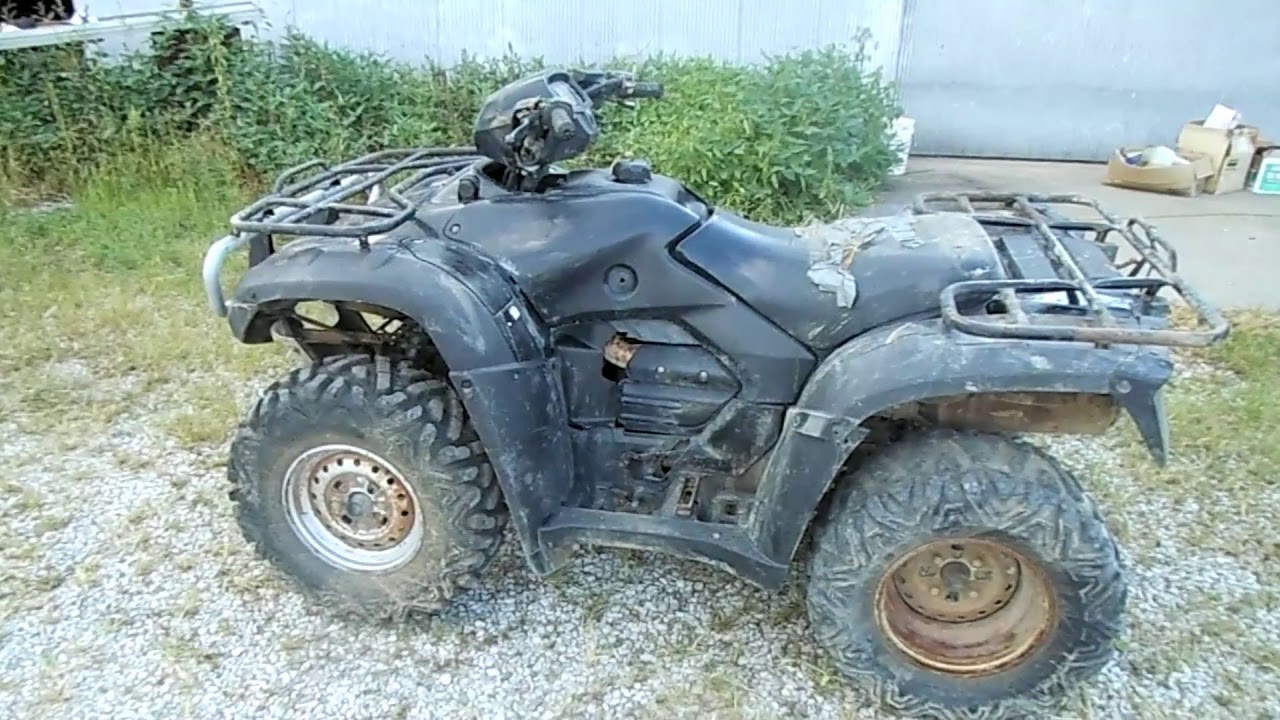 Honda Foreman ATV Before and After Valve Adjustment