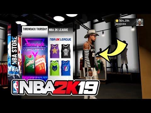 NBA 2K19 THROWBACK JERSEYS ARE HERE NBA 2K19 NBA STORE NEW ITEMS AND JERSEYS IN NBA STORE THROWBACK!