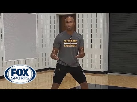 Richard Jefferson demonstrates how to perfect the catch-and-shoot three