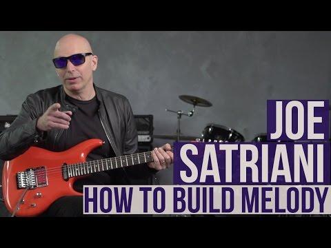 Joe Satriani Guitar Lesson - How to Build Melody