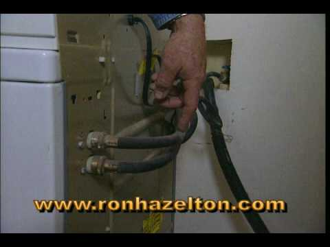 How To Replace Washing Machine Hoses Youtube