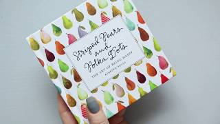 Striped Pears And Polka Dots By Kirsten Sevig |