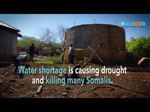 Biyo la'aanta Soomaaliya - Water shortages in Somalia