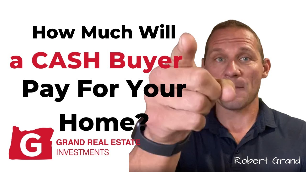 How Much Will a Cash Home Buyer Pay For Your Eugene Home?