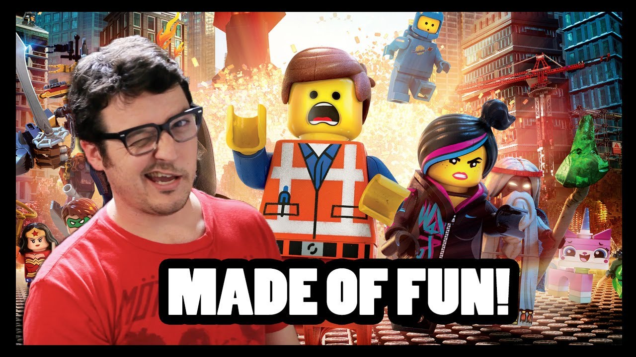 LEGO MOVIE REVIEW - CineFix Now