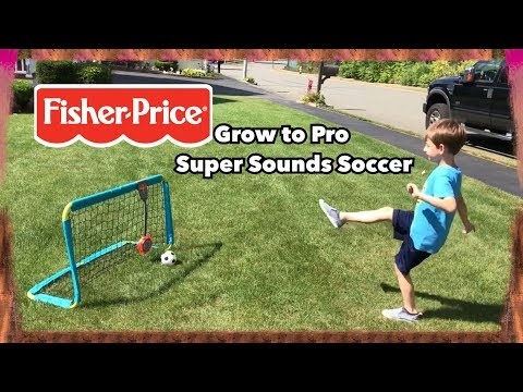 Fisher Price Grow To Pro Super Sounds Soccer