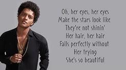 Just The Way You Are - Bruno Mars (Lyrics)