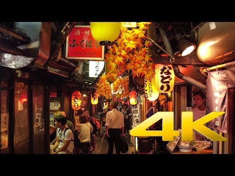 Walking around Shinjuku by night - Tokyo - 新宿 - 4K Ultra HD
