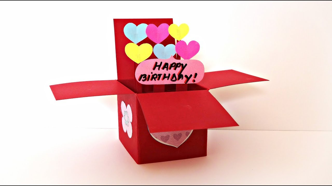 Message In a Box I just want to say.. I love you Mom Dad gift Best friend gift Birthday 3D box love card customized Gift for him and her