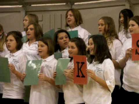 West Carroll Middle School Christmas Concert 6th Grade 2009 PC010442.AVI