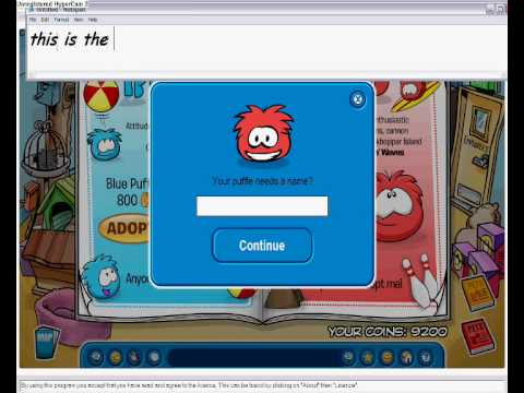 how to be a puffle in cp