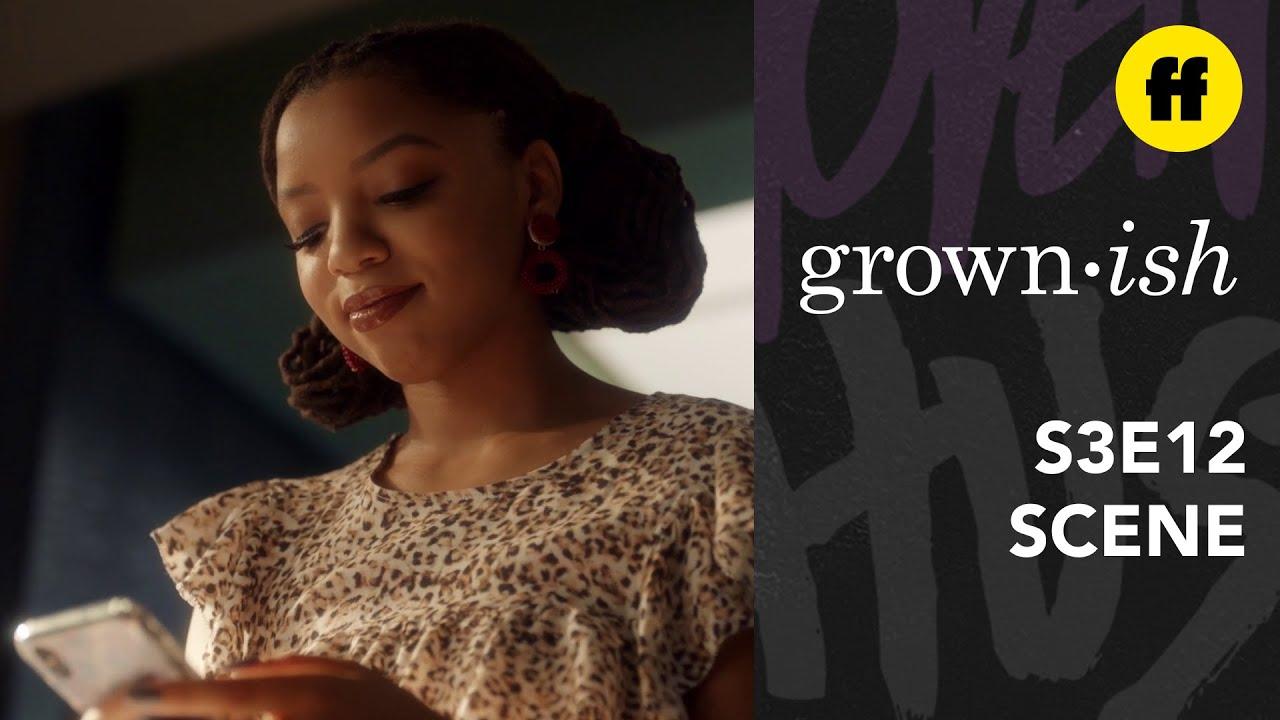 Download grown-ish Season 3, Episode 12   Doug Resists Texting Jazz   Freeform