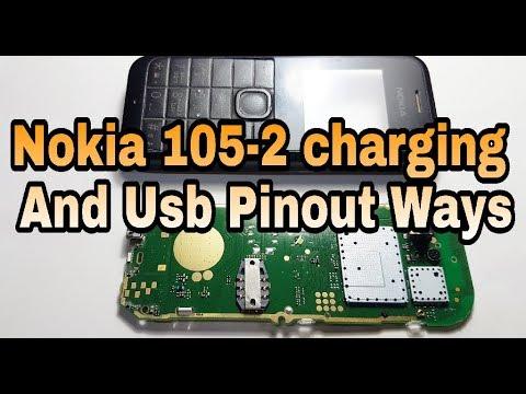 Nokia 105-2 Charging And Usb Pinout Ways