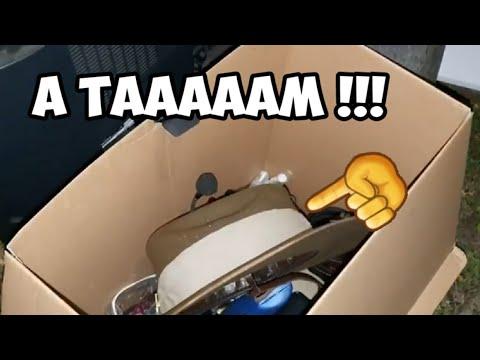 Под фонарём нашла коробку ! А таааам ! Вот так свалка , лучше чем барахлка.Антиквариат и ретро вещи