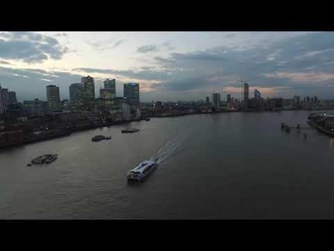 Aerial Footage East London 4K