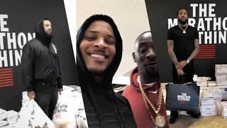 T.I.. THE GAME, MEEK MILL SPEND CRAZY LOOT TO BUY OUT NIPSEY HUSSLE'S CLOTHING STORE