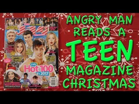 Angry Man Reads a Teen Magazine 7: Christmas