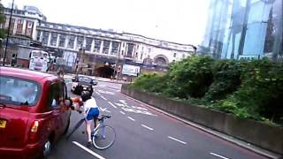 Taxi runs into cyclist twice LV52 NFR