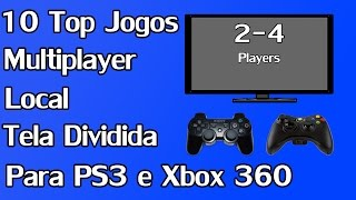 10 Melhores Jogos Multiplayer Local (Tela Dividida - SplitScreen) PS3, Xbox 360