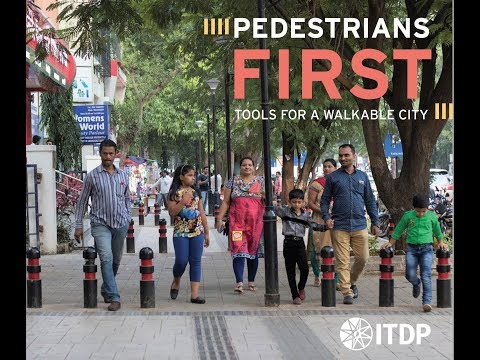 Pedestrians First: Tools for a Walkable City