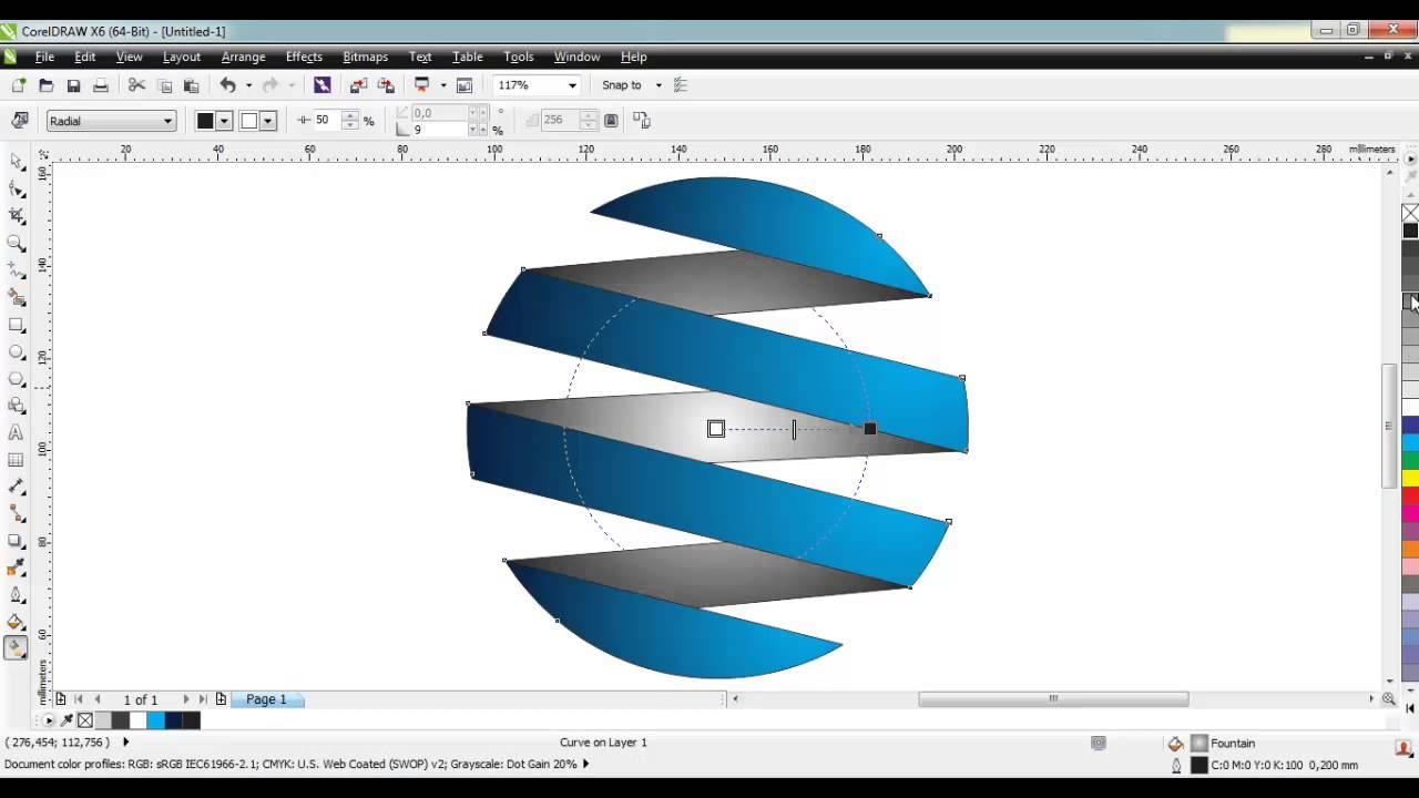 Criando Um Logo R 225 Pido Com Coreldraw X6 Hd Youtube