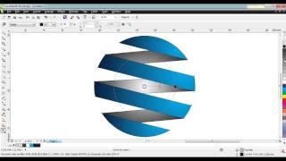 Criando um Logo rápido com CorelDRAW X6 - HD