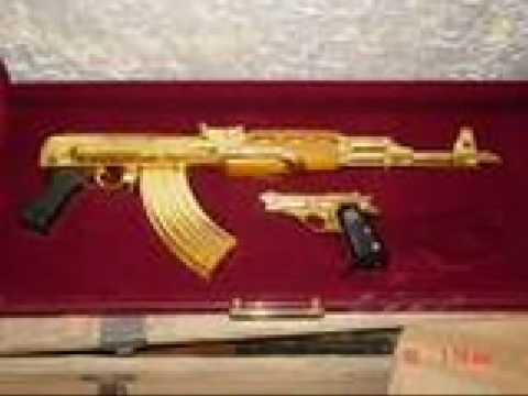 real golden guns - YouTube  Real Golden Guns