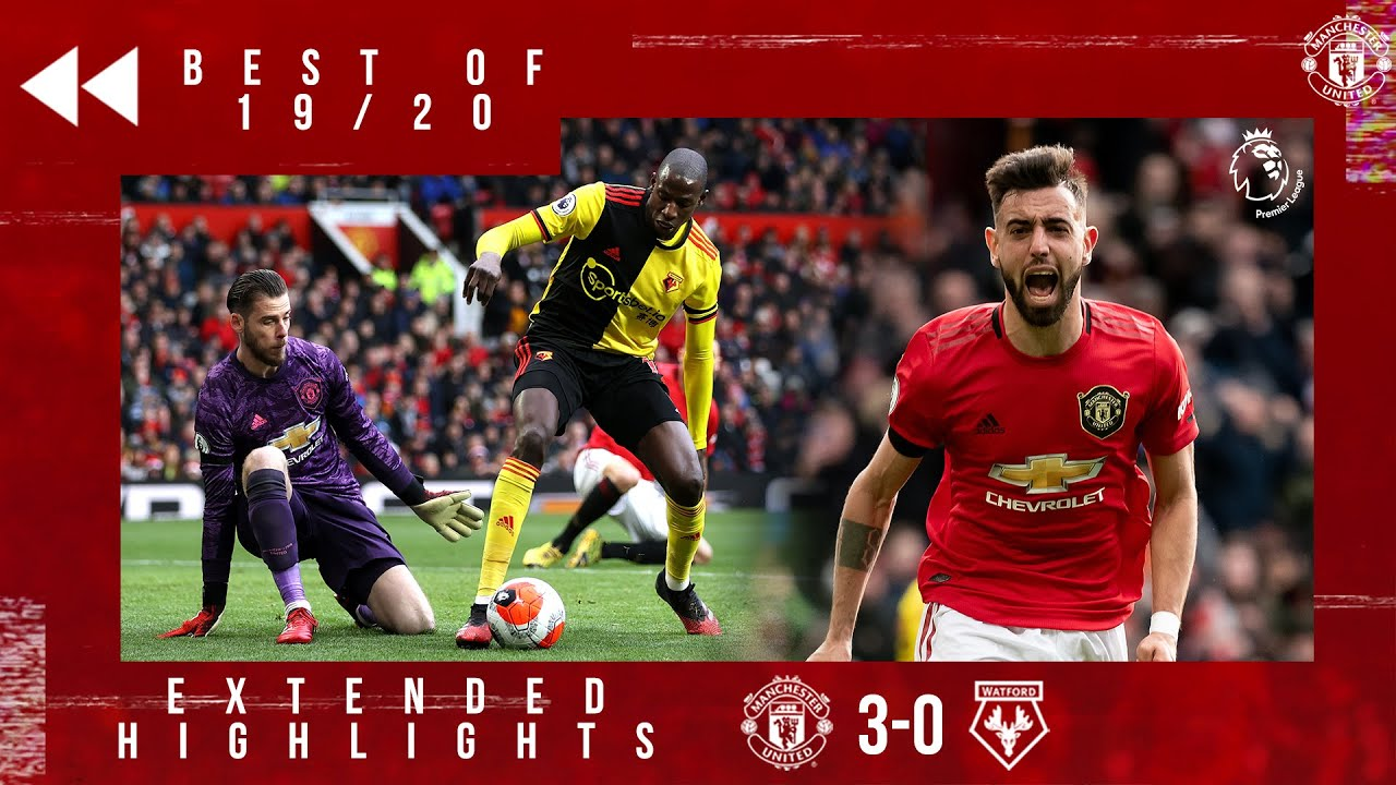 Download Best of 19/20 | Manchester United 3-0 Watford | Bruno Fernandes first goal | Martial & Greenwood