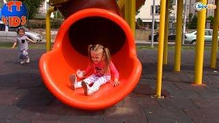 Хелло Китти и Ярослава на Детской Площадке. Каникулы в Турции. Hello Kitty Toys. Tiki Taki Kids