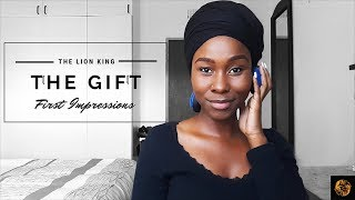 The Lion King The Gift First Impressions Reaction