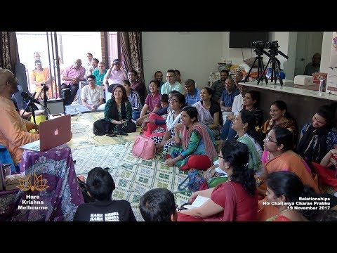 Relationships - HG Chaitanya Charan Prabhu