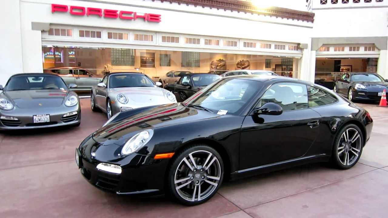 2012 Porsche 911 Carrera Black Edition Now Available For