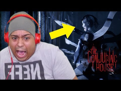 OH HELL NO!! I'M NOT MESSING WITH THIS GAME! [CONJURING HOUSE]