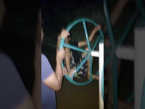 Dumb kid On wheel! (St George School Passout)