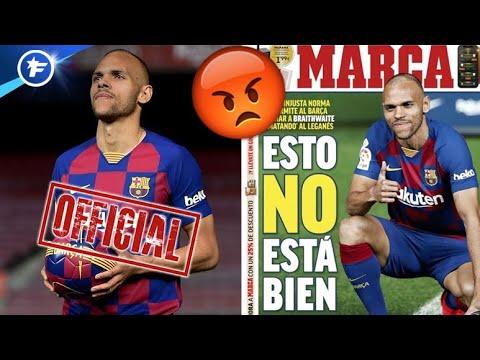 La Presse Madrilène S'offusque Du Transfert De Braithwaite Au Barça   Revue De Presse