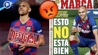 La presse madrilène s'offusque du transfert de Braithwaite au Barça | Revue de presse