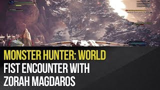 Monster Hunter: World - Fist encounter with Zorah Magdaros