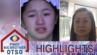 PBB OTSO Day 27: Kaori, naluha sa pasasalamat sa kanyang Ina