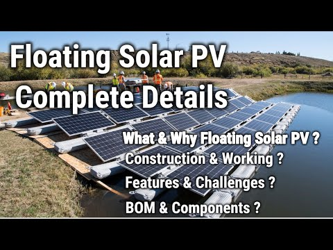 Floating Solar | Floating Solar Construction | Working | Components of Floating Solar |