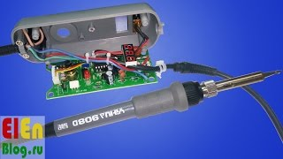yIHUA 908D - Регулируемый Электрический паяльник(хороший) с AliExpress