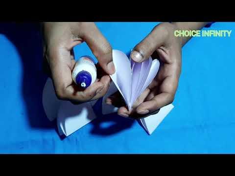 How to make paper umbrella    papercraft